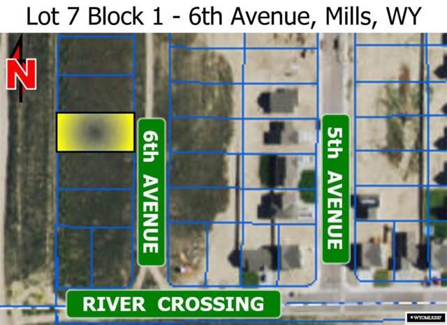 L 7 Blk 1 6th Avenue, Mills, WY 82644 (MLS #20173661) :: Lisa Burridge & Associates Real Estate