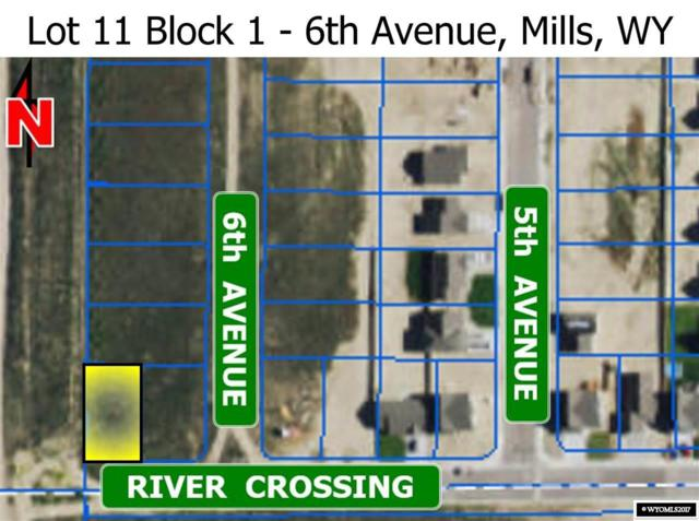 L 11 Blk 1 6th Avenue, Mills, WY 82644 (MLS #20173668) :: Lisa Burridge & Associates Real Estate