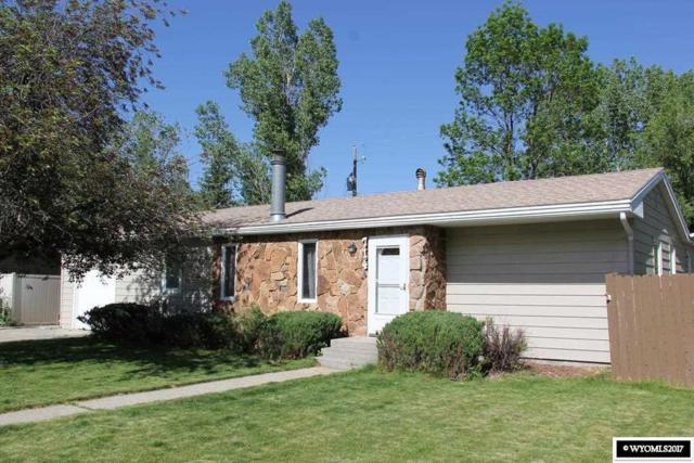 714 S 1st Street, Glenrock, WY 82637 (MLS #20173811) :: Lisa Burridge & Associates Real Estate