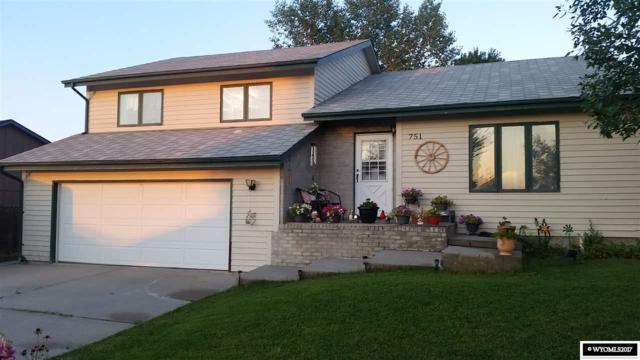 751 Wind River Avenue, Casper, WY 82609 (MLS #20175038) :: Lisa Burridge & Associates Real Estate