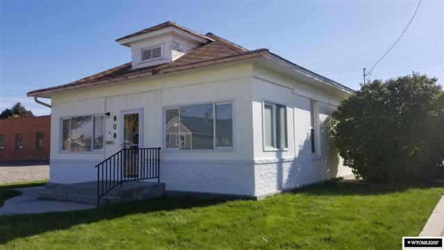 808 Robertson Avenue, Worland, WY 82401 (MLS #20176405) :: Lisa Burridge & Associates Real Estate