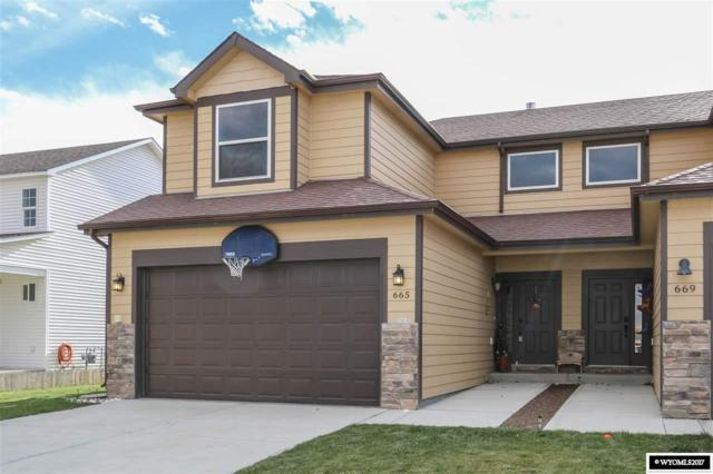 665 7th, Evansville, WY 82636 (MLS #20176687) :: RE/MAX The Group