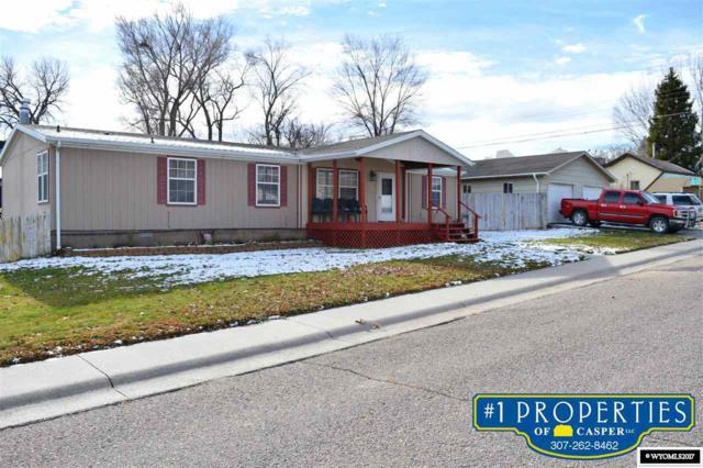 203 Deer, Glenrock, WY 82637 (MLS #20176774) :: Lisa Burridge & Associates Real Estate