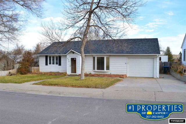 642 S 5th, Glenrock, WY 82637 (MLS #20176802) :: RE/MAX The Group