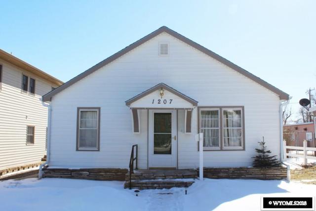 1207 Arapahoe Street, Thermopolis, WY 82443 (MLS #20181057) :: Lisa Burridge & Associates Real Estate