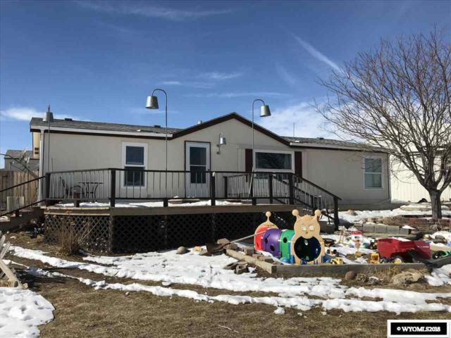 81 Lounsberry, Glenrock, WY 82637 (MLS #20181141) :: RE/MAX The Group