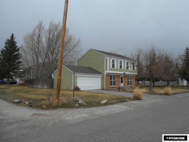 1703 Aberdeen Boulevard, Rawlins, WY 82301 (MLS #20181971) :: Real Estate Leaders