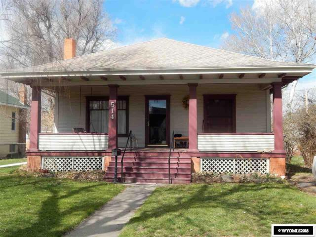 514 S 5th, Douglas, WY 82633 (MLS #20182206) :: Real Estate Leaders