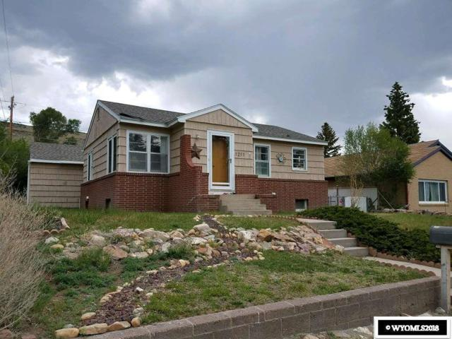 1211 High Street, Rawlins, WY 82301 (MLS #20182753) :: Lisa Burridge & Associates Real Estate