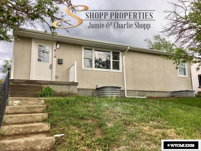 415 S Nebraska, Casper, WY 82609 (MLS #20182985) :: Real Estate Leaders