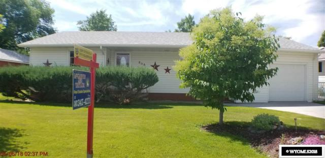 808 Howell Avenue, Worland, WY 82401 (MLS #20183313) :: RE/MAX The Group