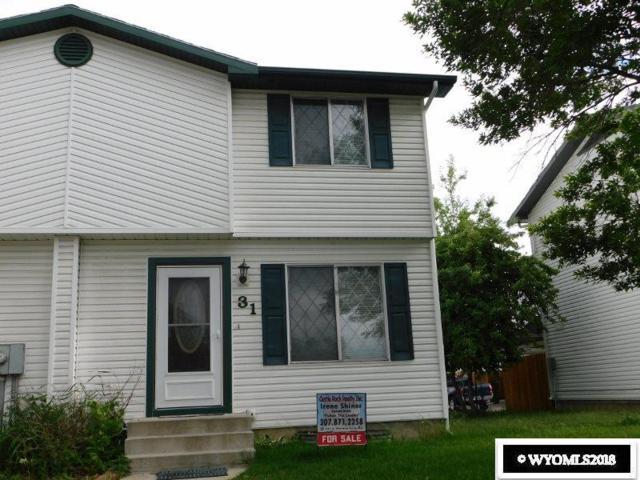 500 Monroe #31, Green River, WY 82935 (MLS #20183472) :: Lisa Burridge & Associates Real Estate