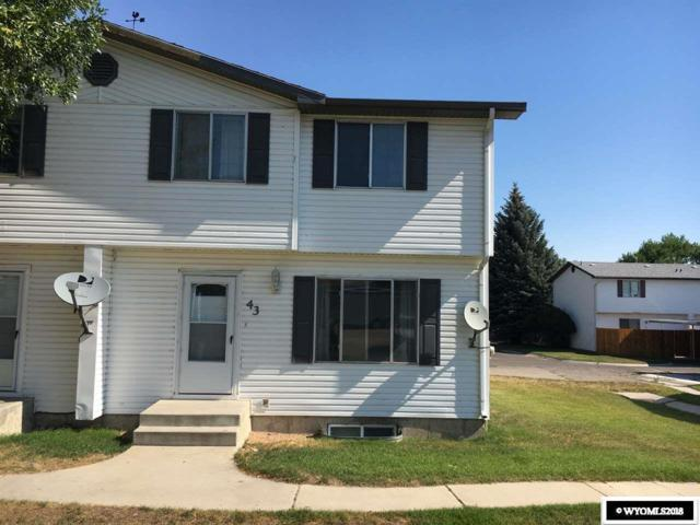 500 Monroe Ave #43, Green River, WY 82935 (MLS #20184303) :: Real Estate Leaders