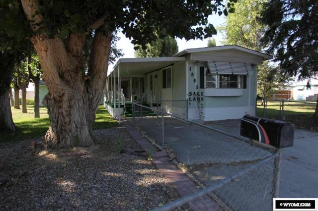 1843 Sage Lane, Worland, WY 82401 (MLS #20184359) :: Real Estate Leaders