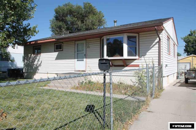 805 N 12th E, Riverton, WY 82501 (MLS #20185465) :: Real Estate Leaders