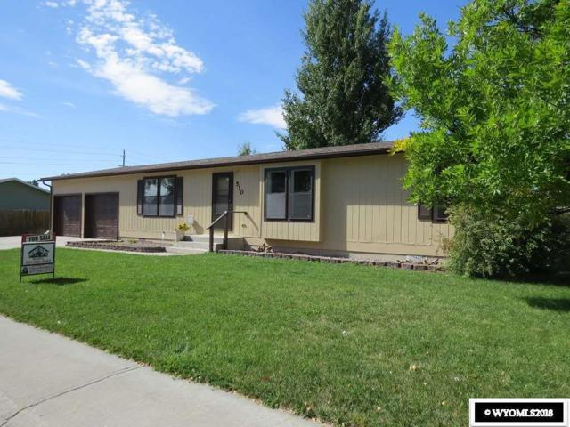 510 Spire Drive, Riverton, WY 82501 (MLS #20185660) :: RE/MAX The Group
