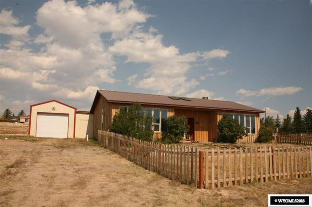 621 Mountain View Drive, Dubois, WY 82513 (MLS #20185722) :: Real Estate Leaders