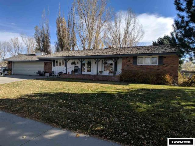 1716 Circle Road, Worland, WY 82401 (MLS #20186564) :: Lisa Burridge & Associates Real Estate