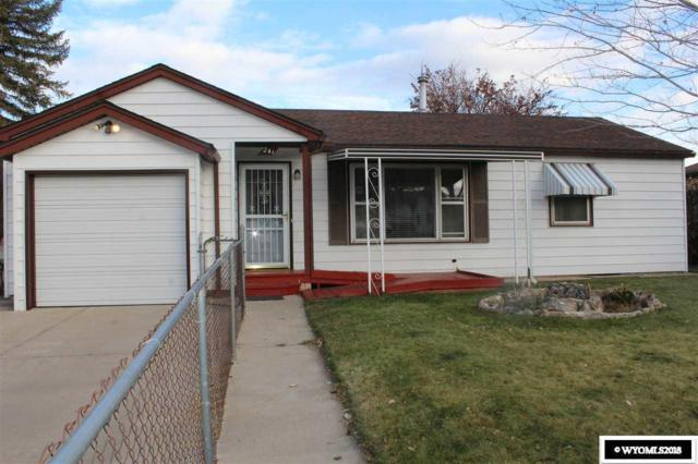 241 Andrews Street, Green River, WY 82935 (MLS #20186650) :: RE/MAX The Group