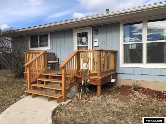578 Cliff, Lander, WY 82520 (MLS #20186761) :: Lisa Burridge & Associates Real Estate