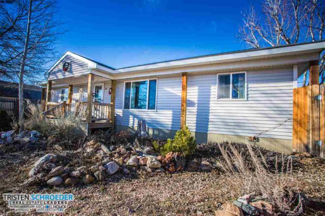 225 N 4th, Glenrock, WY 82637 (MLS #20190092) :: Real Estate Leaders