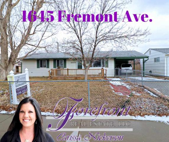 1645 Fremont Ave., Casper, WY 82604 (MLS #20190808) :: RE/MAX The Group