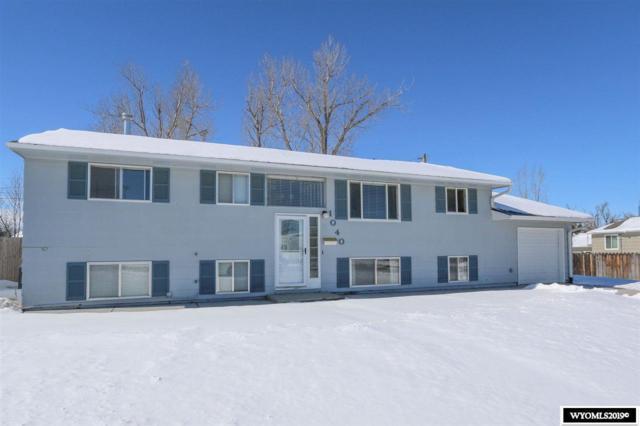 1040 Ivy Lane, Casper, WY 82609 (MLS #20191328) :: Lisa Burridge & Associates Real Estate