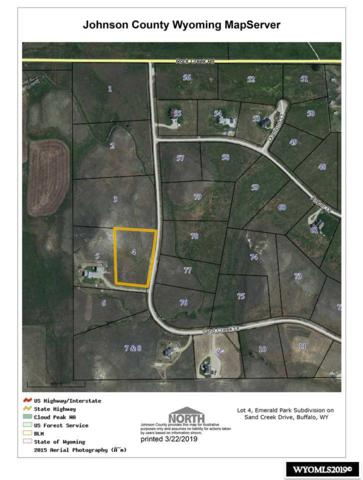 Lot 4 Sand Creek Drive, Buffalo, WY 82834 (MLS #20191410) :: Lisa Burridge & Associates Real Estate