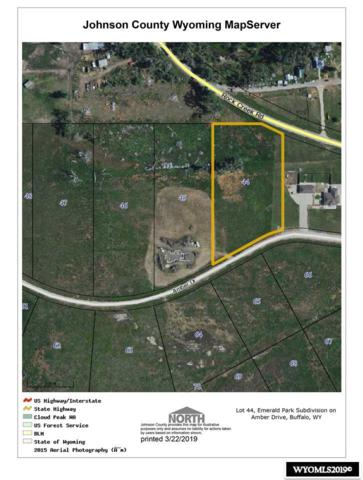 Lot 44 Amber Drive, Buffalo, WY 82834 (MLS #20191422) :: RE/MAX The Group