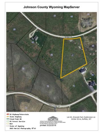 Lot 63 Amber Drive, Buffalo, WY 82834 (MLS #20191426) :: RE/MAX The Group