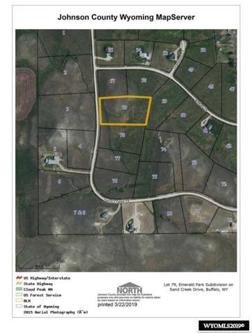 Lot 79 Sand Creek Drive, Buffalo, WY 82834 (MLS #20191431) :: Lisa Burridge & Associates Real Estate