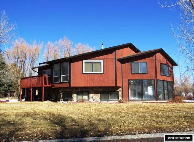 220 Cathedral Drive, Riverton, WY 82501 (MLS #20191519) :: Lisa Burridge & Associates Real Estate