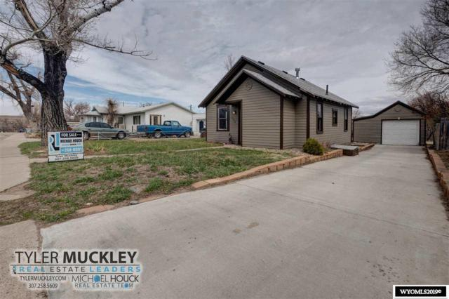 220 S 2nd, Glenrock, WY 82637 (MLS #20191890) :: RE/MAX The Group