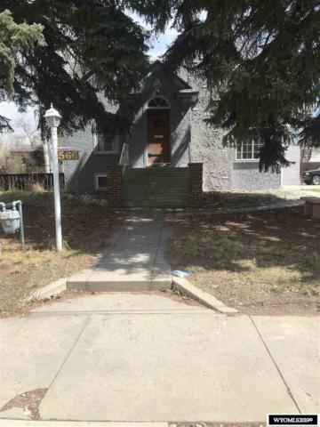 566 N 3rd Street, Lander, WY 82520 (MLS #20192360) :: Real Estate Leaders
