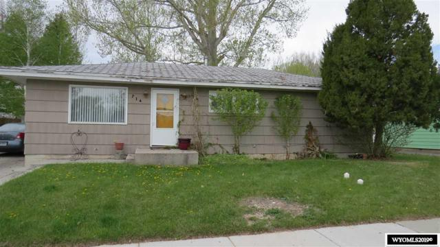714 N 2nd W., Riverton, WY 82501 (MLS #20192646) :: Real Estate Leaders
