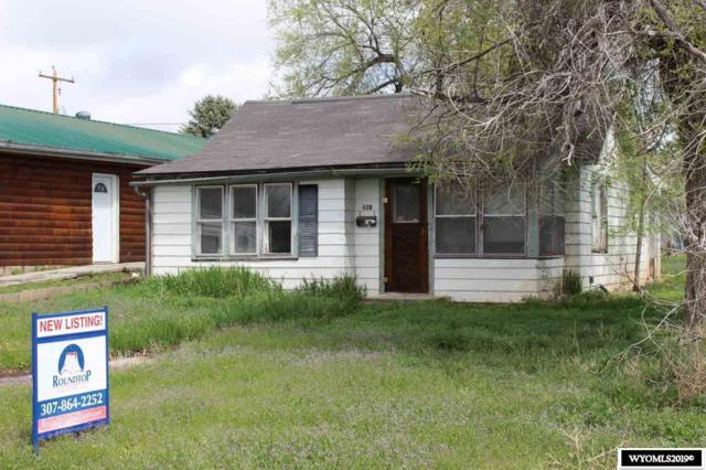 628 Big Horn Street, Thermopolis, WY 82443 (MLS #20192712) :: RE/MAX The Group
