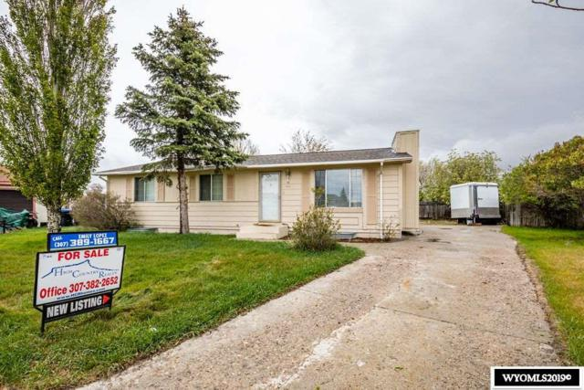 1440 Gannett Circle, Green River, WY 82935 (MLS #20192815) :: RE/MAX The Group