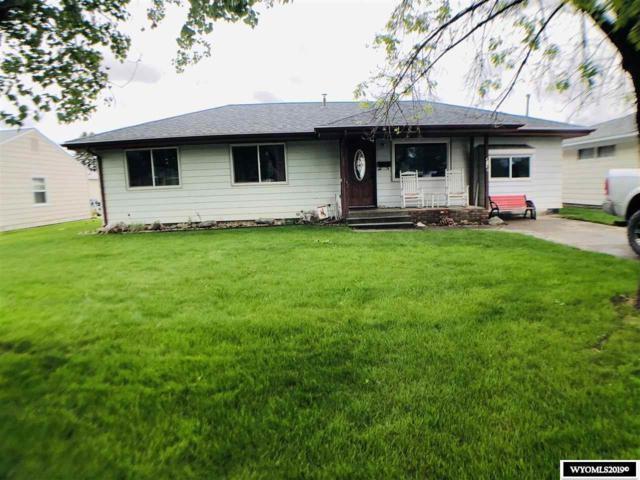 419 West Lane, Worland, WY 82401 (MLS #20192844) :: RE/MAX The Group