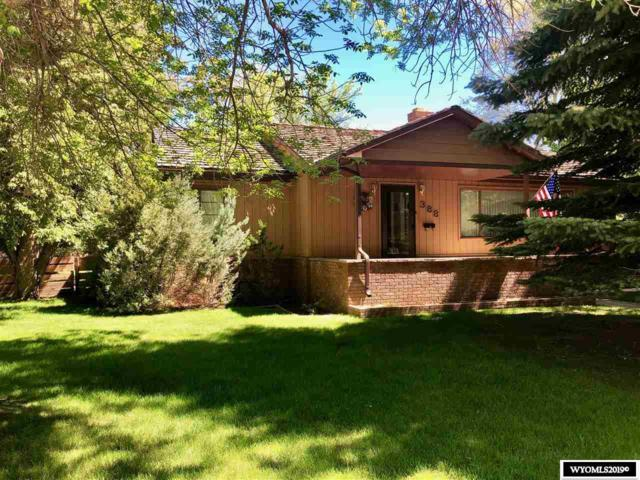 388 Cascade Street, Lander, WY 82520 (MLS #20193205) :: RE/MAX The Group