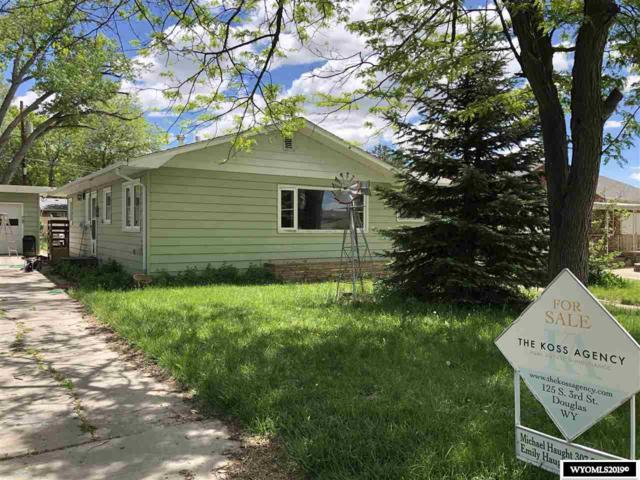 613 S 11th Street, Douglas, WY 82633 (MLS #20193225) :: Real Estate Leaders