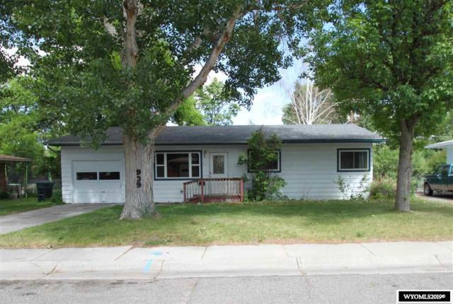 939 Moose, Riverton, WY 82501 (MLS #20193668) :: Real Estate Leaders