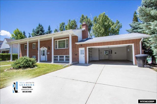 1200 Manor Drive, Casper, WY 82601 (MLS #20193735) :: Lisa Burridge & Associates Real Estate