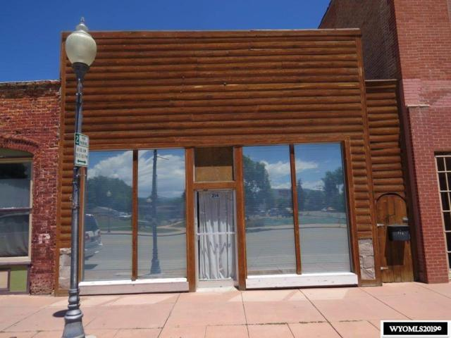 214 Main Street, Lander, WY 82520 (MLS #20193829) :: RE/MAX The Group
