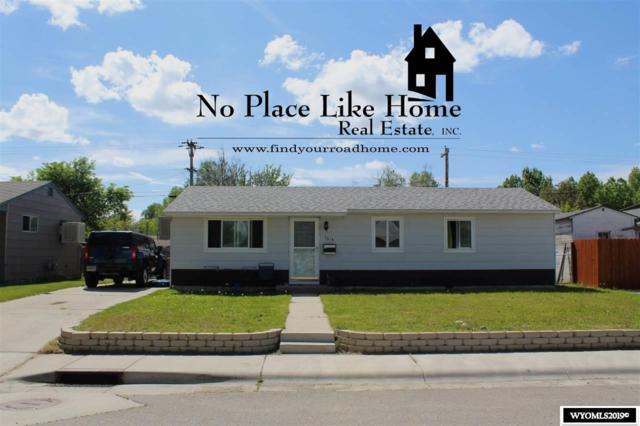 1614 Fetterman Avenue, Casper, WY 82604 (MLS #20194078) :: Real Estate Leaders