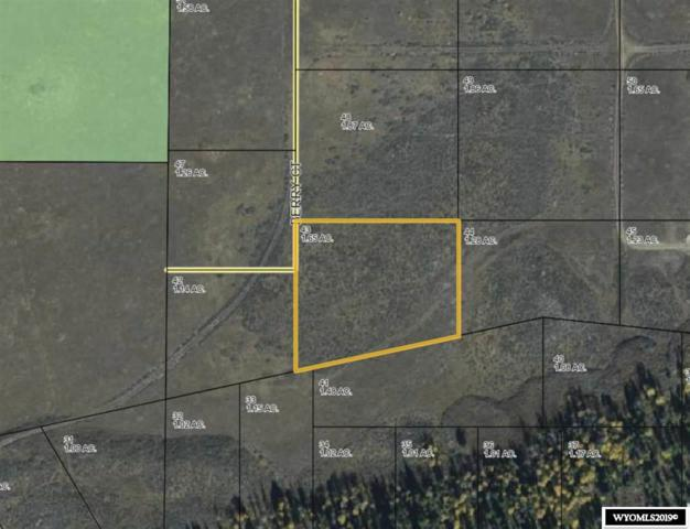 Lot 43 Long Creek Subdivision Road, Dubois, WY 82513 (MLS #20194099) :: RE/MAX The Group