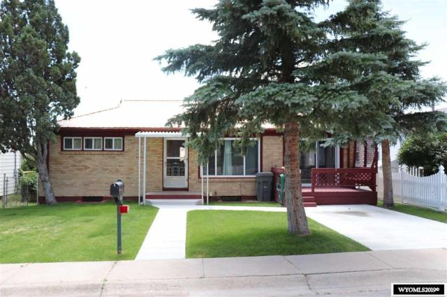 1122 Veterans Street, Rawlins, WY 82301 (MLS #20194286) :: Lisa Burridge & Associates Real Estate