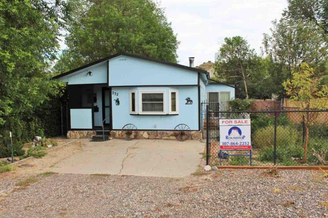 232 E Broadway Street, Thermopolis, WY 82443 (MLS #20194462) :: RE/MAX The Group