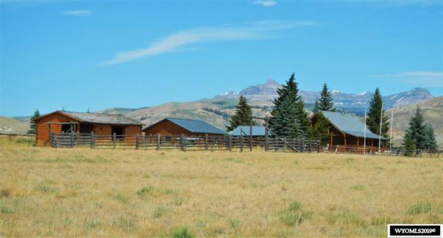 28 & 32 Moose Drive, Dubois, WY 82513 (MLS #20194491) :: Lisa Burridge & Associates Real Estate