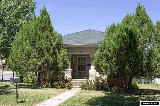 742 Arapahoe, Thermopolis, WY 82443 (MLS #20194798) :: RE/MAX The Group