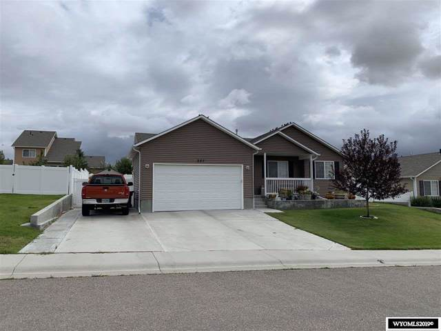 337 Via Rucce, Rock Springs, WY 82901 (MLS #20195386) :: RE/MAX The Group